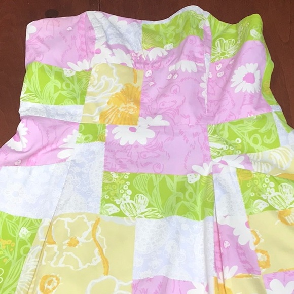 Lilly Pulitzer Dresses & Skirts - Lilly Pulitzer strapless day dress size 6